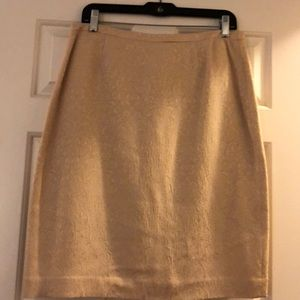 Brocade Beige Skirt